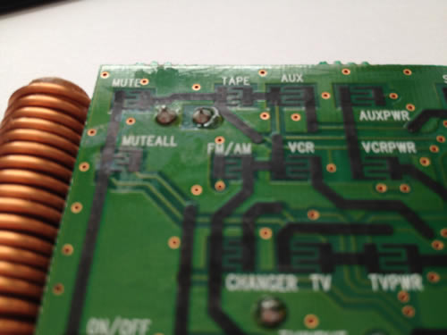 inside the bose remote