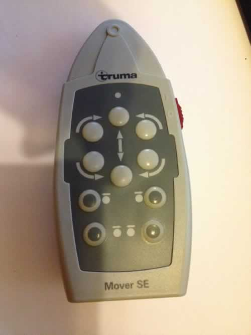 Truma Mover  SE - off switch faulty