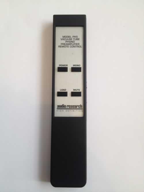 audio research remote repair
