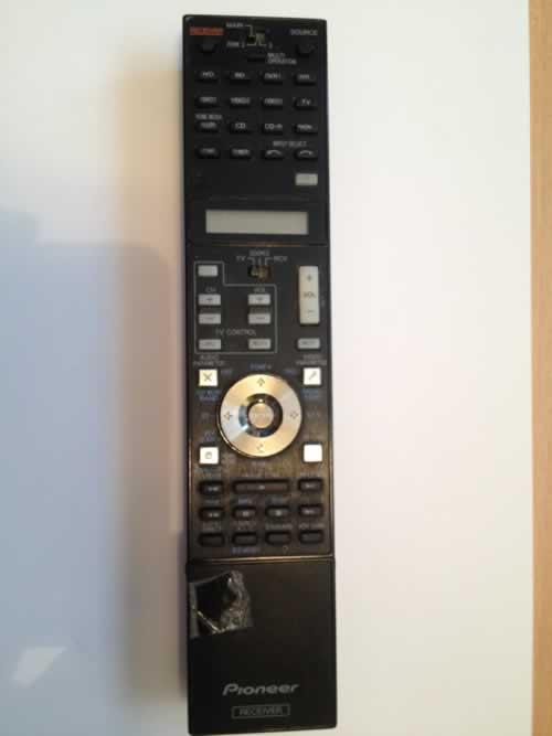 Pioneer SC-LX71 Remote Control Repair