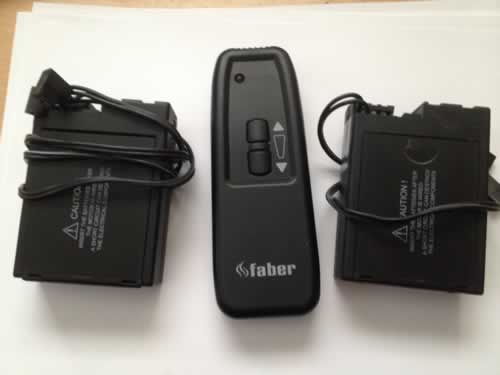 Mertik Maxitrol Remote *1 and Receiver x 2 G30 - ZRHS and G30 - ZRRS x 2