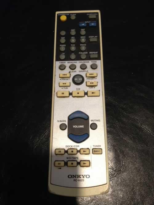 Onkyo RC-662S Remote Control Repair