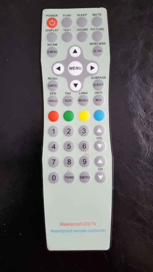 WATERPROOF LCD TV  TKW128