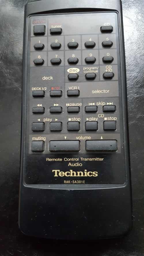 Technics RAK - SA301E