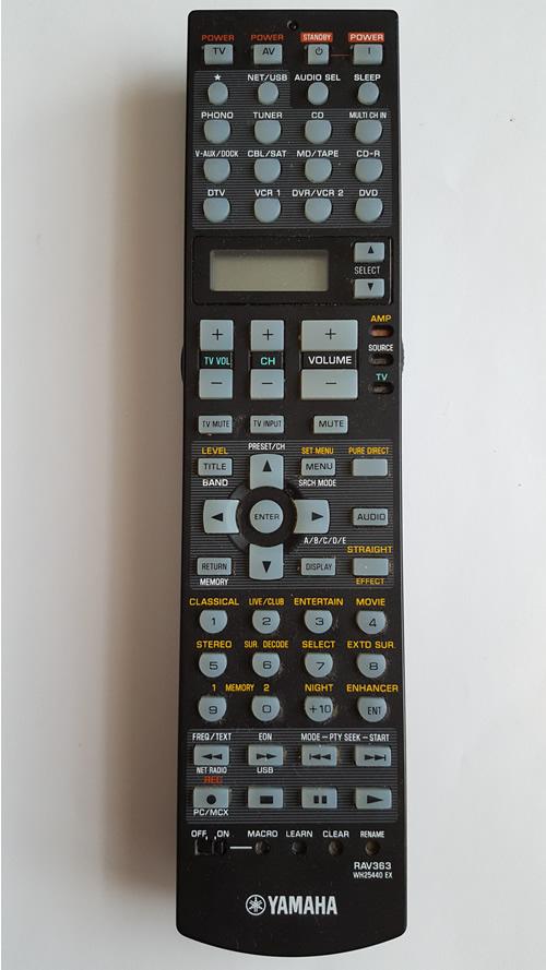 Yamaha RAV 363 (WH2544O EX)
