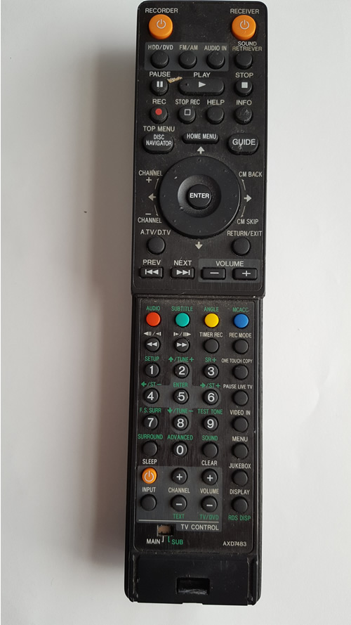 PIONEER AXD7483