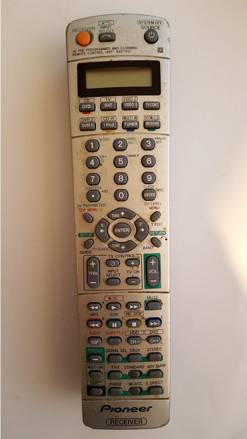 pioneer remote repair