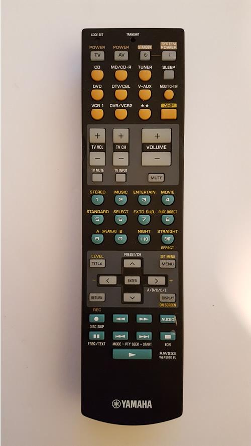 Yamaha RAV 253      WE 5860 EU