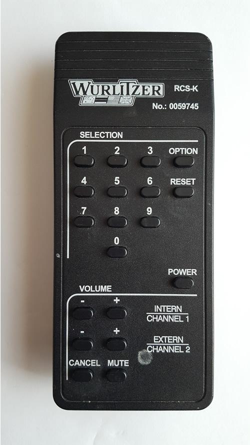 Wurlitzer RCS-K No: 0059745