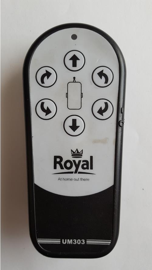 royal rmeote repair