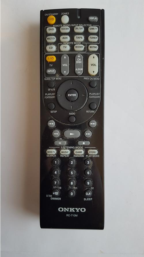 Onkyo RC-710M Remote Control Repair