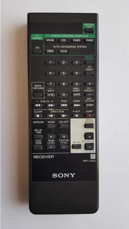 sony remote repair