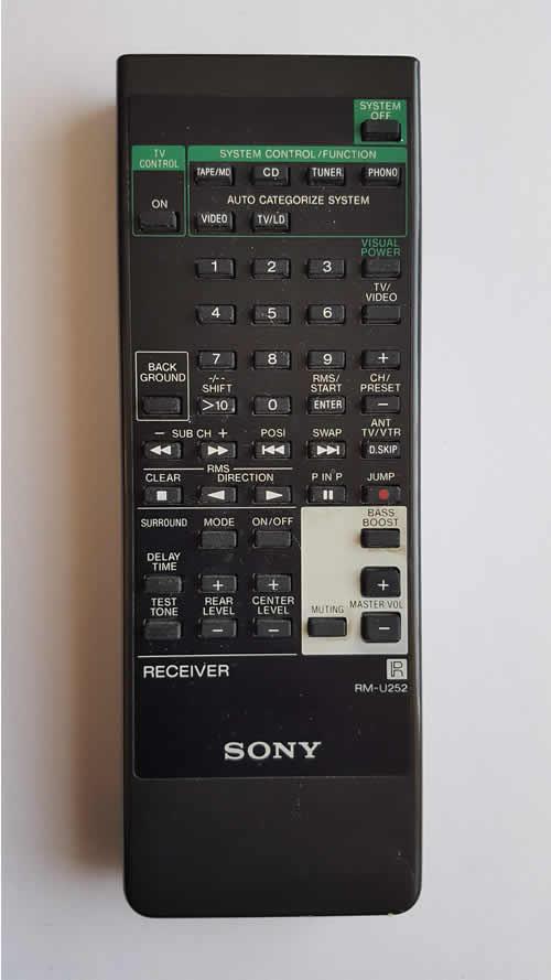 sony remote repair