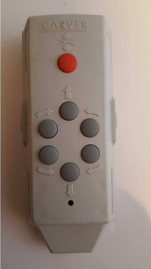 carver remote repair