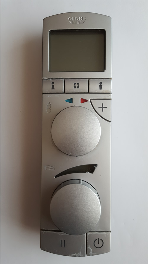 grohe remote control