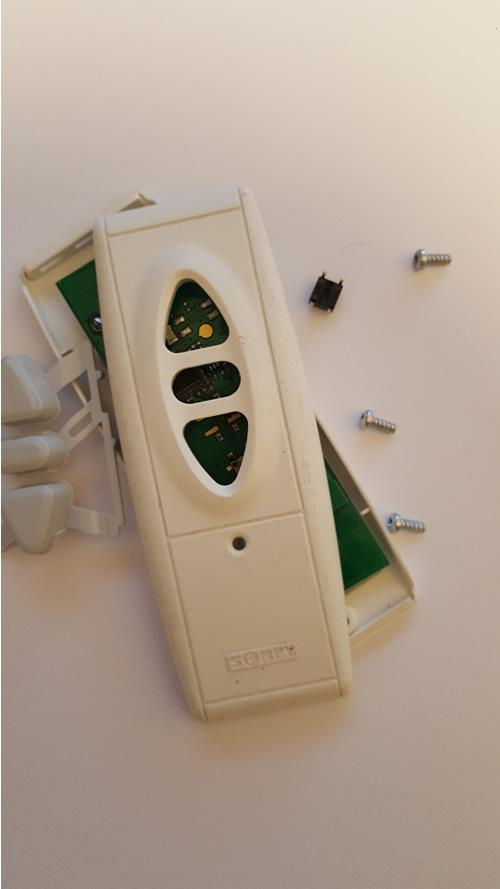 broken remote