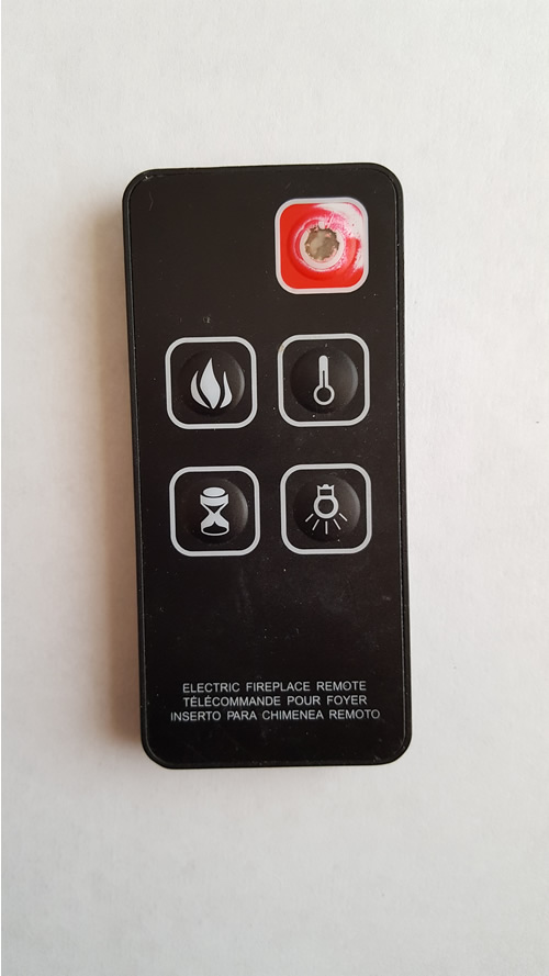 fireplace remote repair