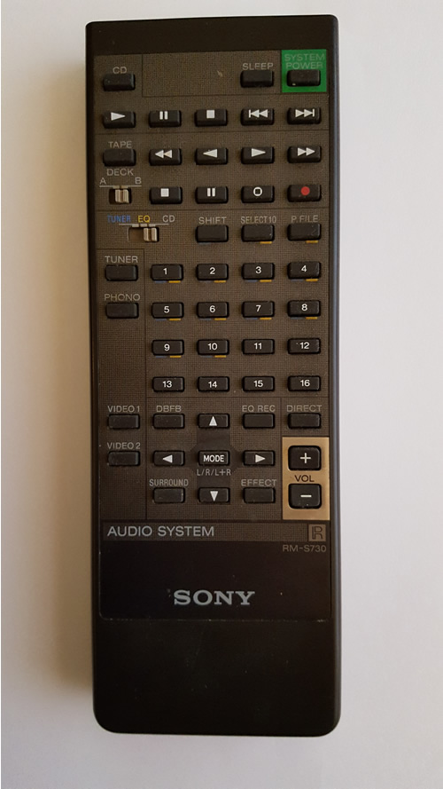 Sony RM-S730