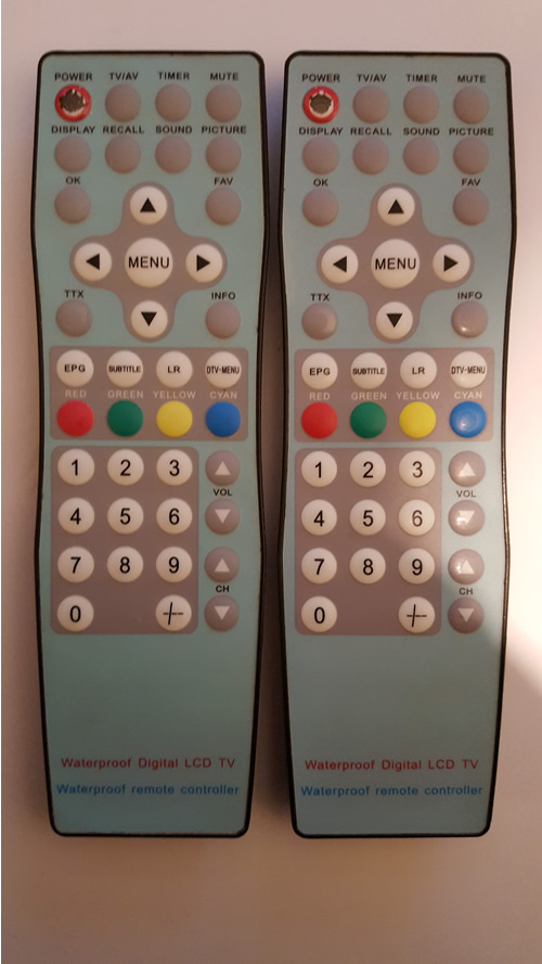 WATERPROOF DIGITAL LCD TV TKW128