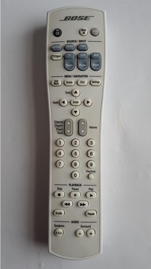 bose remote repair