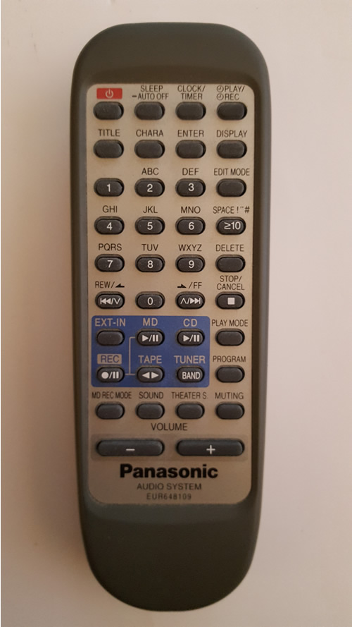 Panasonic EUR648109