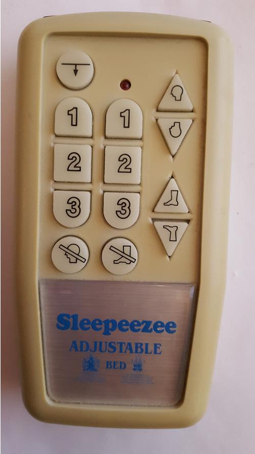 sleepeezee remote control repair