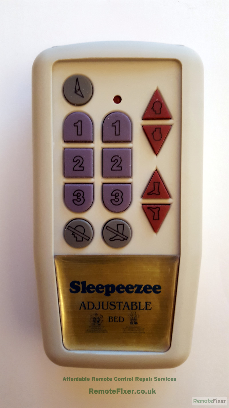 sleepeezee remote control repair