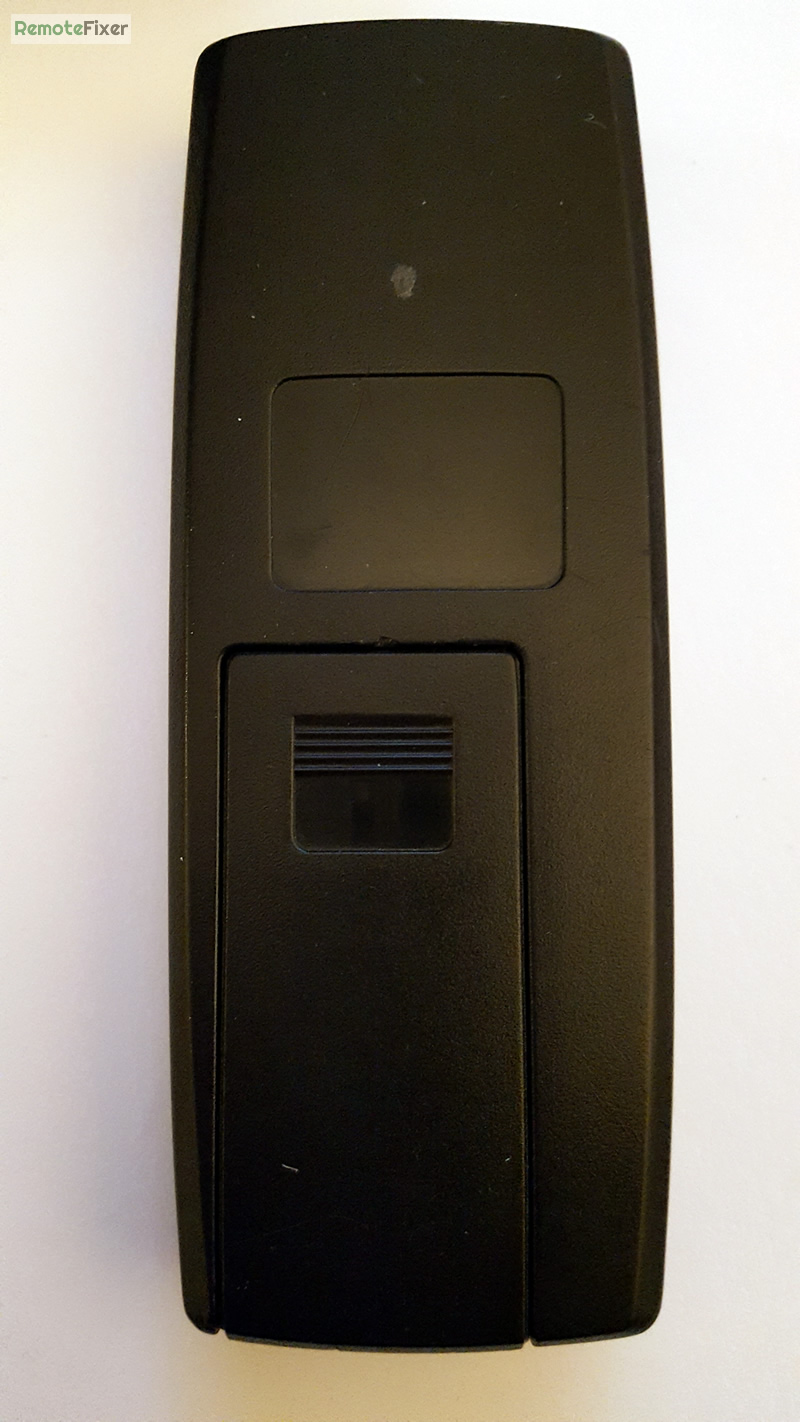 back of remote