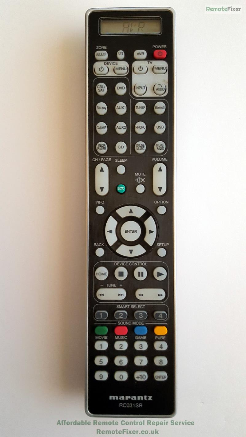 marantz remote repair