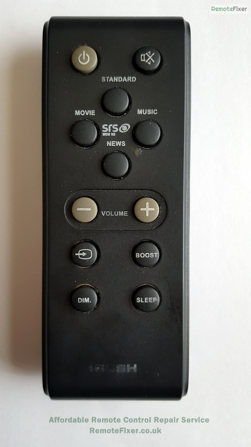 bush remote control repair