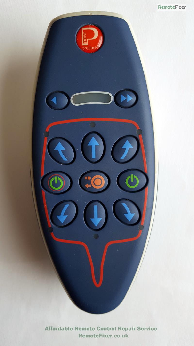 powrtouch remote repair