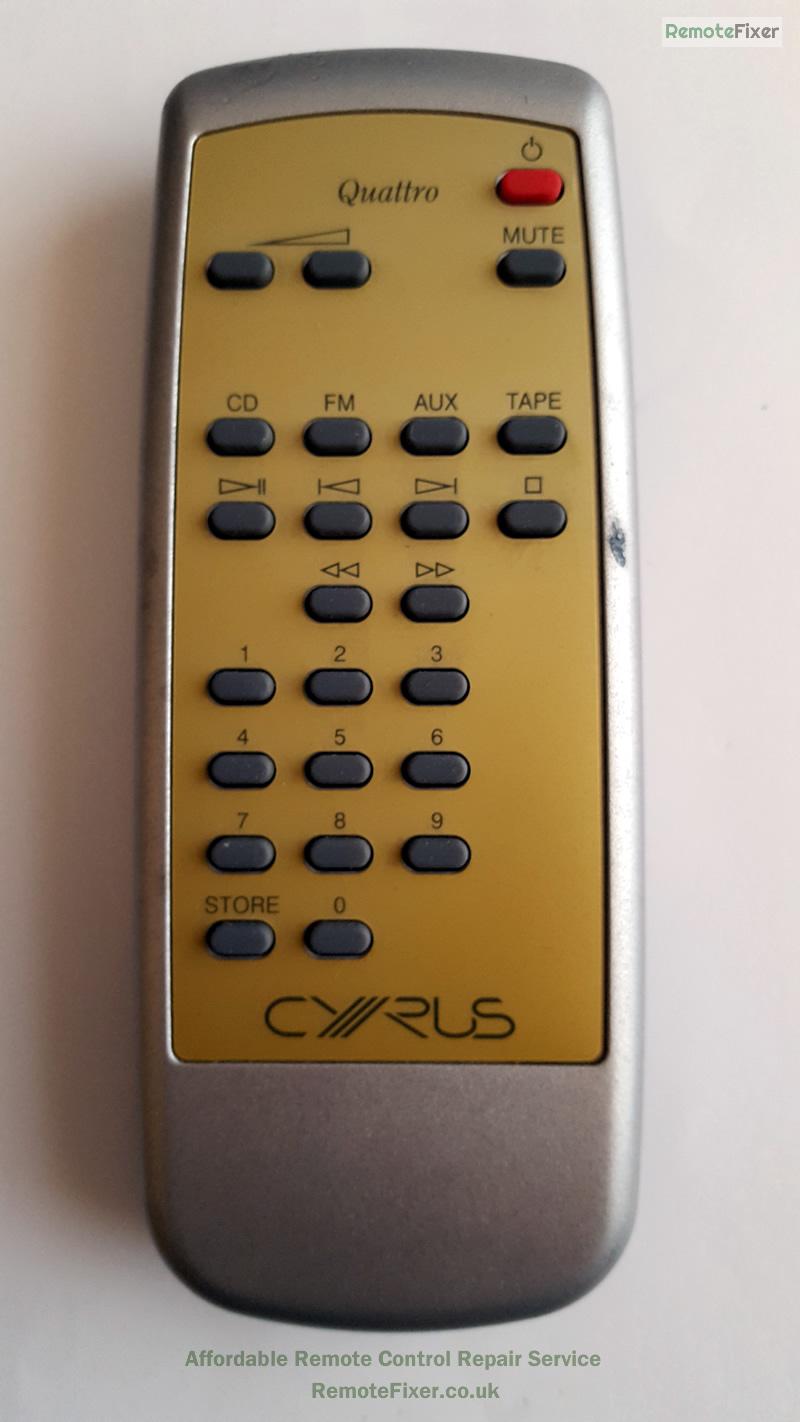 cyrus remote control repair