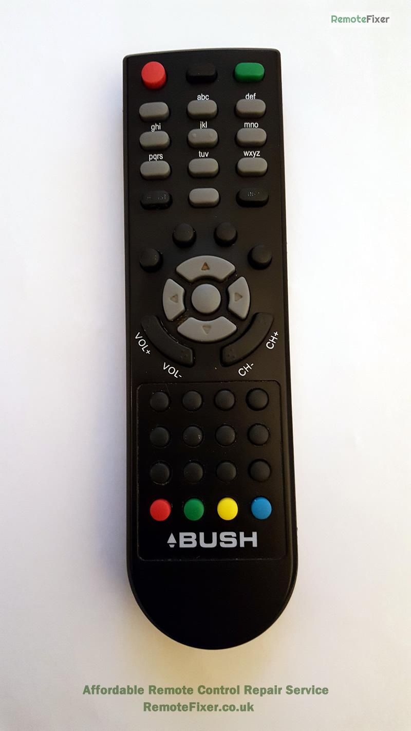 bush tv remote repair