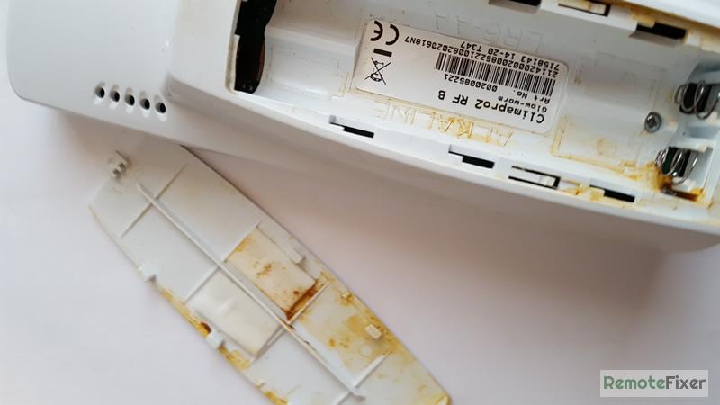 battery leak