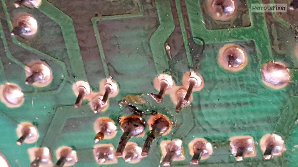 bad solder joints