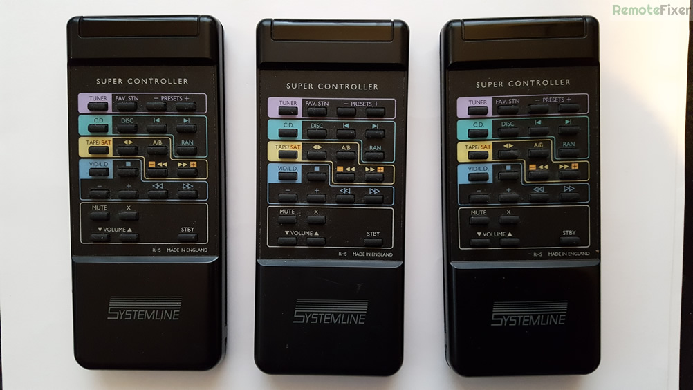 Systemline X3 and Hornamm X2