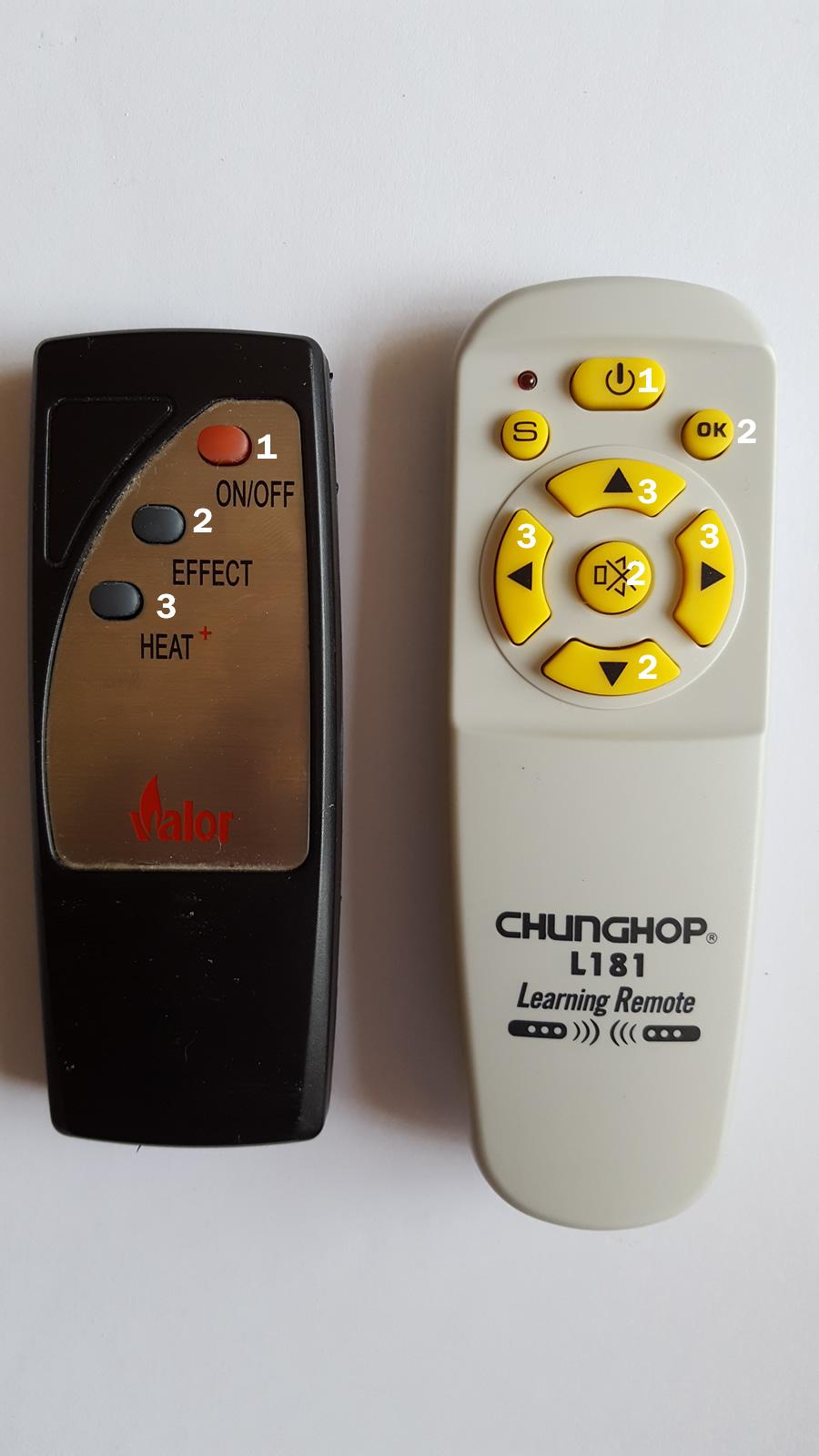 valor 3 button clone