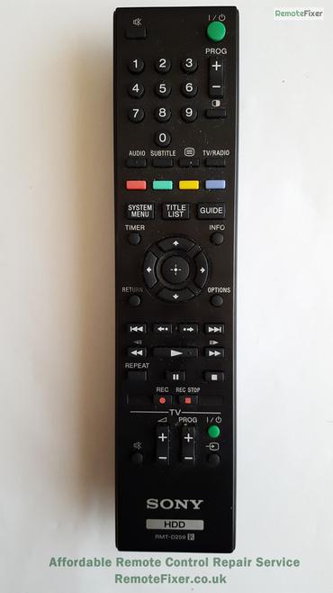 Sony RMT-D259