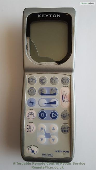 Keyton grey remote. MMS-2000 ST
